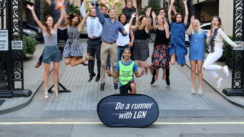 LGN Run Club's Inter Advertising 5k