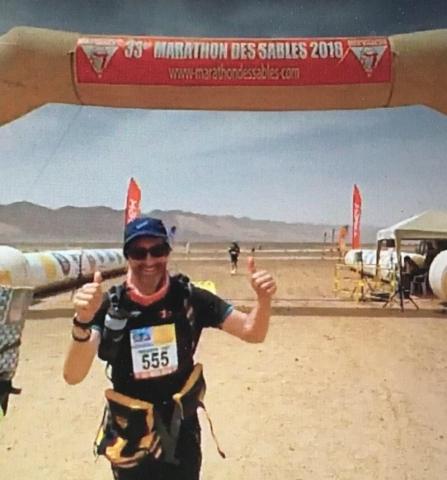 LGN's Ben Noad Marathon des Sabl