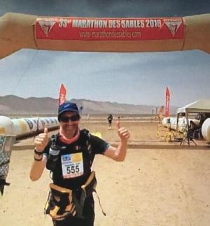 LGN Ben Noad Marathon des Sable